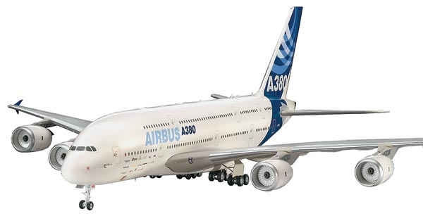 "04218 Revell Европейский самолёт ""Airbus A-380 New Livery"" Масштаб 1/144"