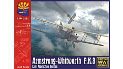 K1031  Copper State Models Armstrong-Whitworth F.K.8 Late production version Масштаб 1/48