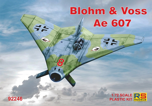 92246 RS Models Самолет Blohm and Voss Ae 607 1/72