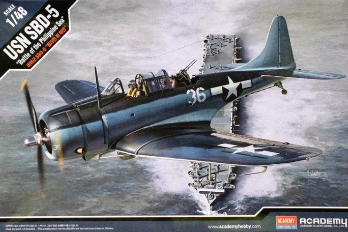 "12329 Academy Cамолет SBD-5 ""Battle of the Philippine Sea"" 1/48"