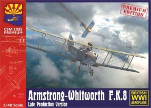 K1031Pr  Copper State Models Armstrong-Whitworth F.K.8 Late production version Масштаб 1/48