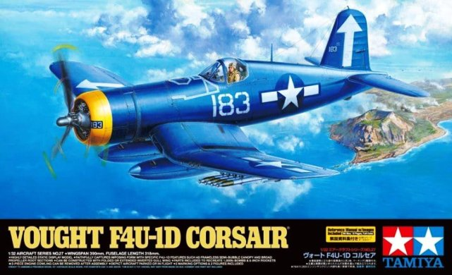 60327 Tamiya Самолет Vought F4U-1D Corsair 1/32