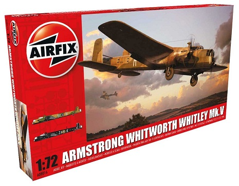 A08016 Airfix Самолет Armstrong Whitworth Whitley Mk.V 1/72