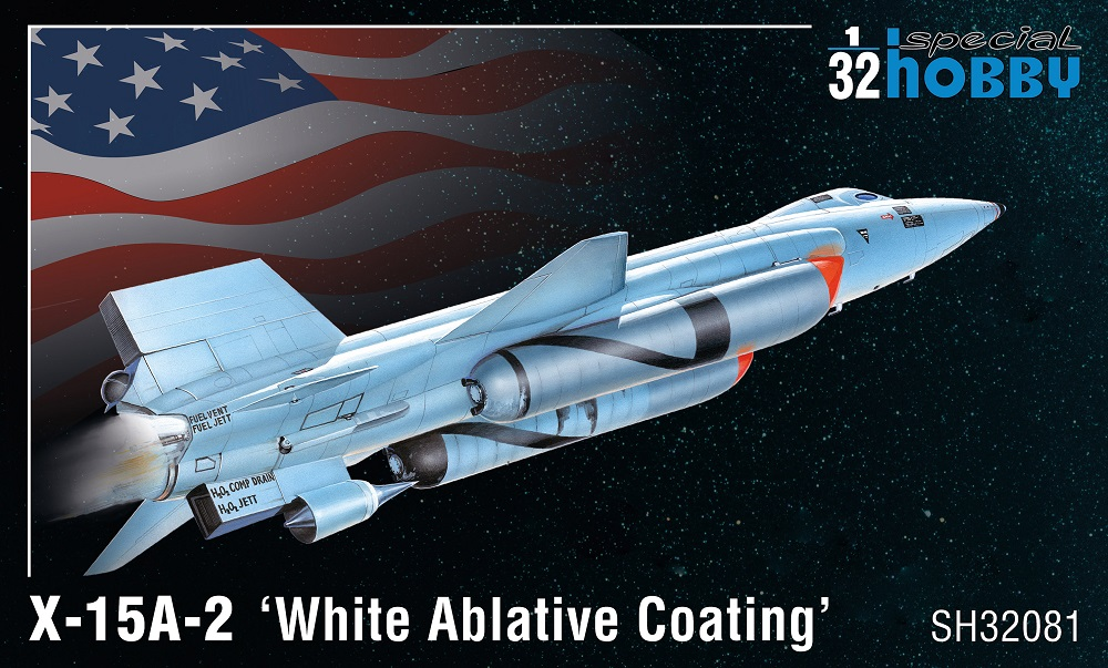 32081 Special Hobby Самолет X-15A-2 'White Ablative Coating' 1/32